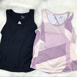Old navy active workout tank top bundle!